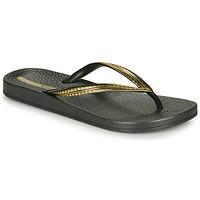 Παπούτσια Γυναίκα Σαγιονάρες Ipanema MESH IV Black / Gold