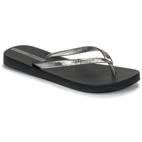 Παπούτσια Γυναίκα Σαγιονάρες Ipanema GLAM II Black / Argenté