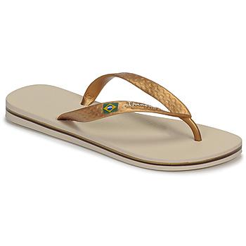 Παπούτσια Γυναίκα Σαγιονάρες Ipanema CLAS BRASIL II Beige / Gold