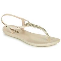 Παπούτσια Γυναίκα Σανδάλια / Πέδιλα Ipanema CLASS GLAM III Beige / Gold