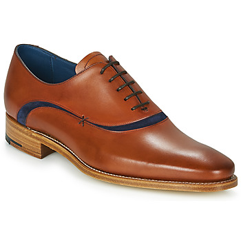 Παπούτσια Άνδρας Richelieu Barker EMERSON Brown / Μπλέ