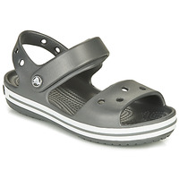Παπούτσια Παιδί Σπορ σανδάλια Crocs CROCBAND SANDAL KIDS Μαυρο / Ασπρό