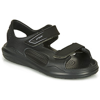 Παπούτσια Παιδί Σανδάλια / Πέδιλα Crocs SWIFTWATER EXPEDITION SANDAL Μαυρο