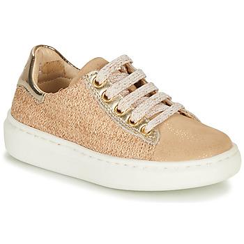 Παπούτσια Κορίτσι Χαμηλά Sneakers Shoo Pom FLASH ZIP LACE Beige