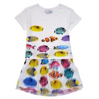 Υφασμάτινα Κορίτσι Κοντά Φορέματα Desigual XALAPA Multicolour
