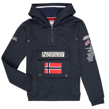 Υφασμάτινα Αγόρι Φούτερ Geographical Norway GYMCLASS Marine