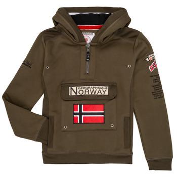 Υφασμάτινα Αγόρι Φούτερ Geographical Norway GYMCLASS Kaki