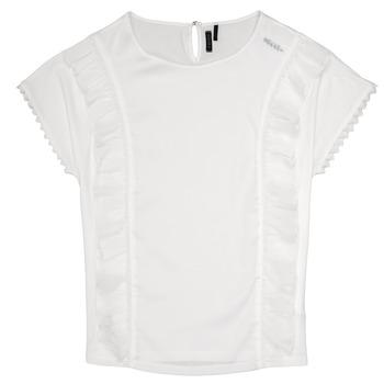 Υφασμάτινα Κορίτσι Μπλούζες Ikks CHLOE Άσπρο