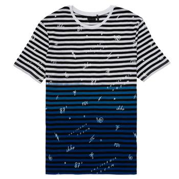 Υφασμάτινα Αγόρι T-shirt με κοντά μανίκια Ikks DANIELO Multicolour