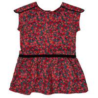Υφασμάτινα Κορίτσι Κοντά Φορέματα Ikks MAGGIE Grey / Red