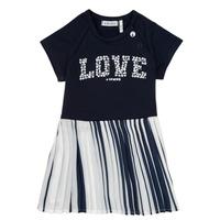 Υφασμάτινα Κορίτσι Κοντά Φορέματα Ikks POELA Marine