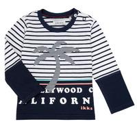 Υφασμάτινα Αγόρι Μπλουζάκια με μακριά μανίκια Ikks LAURA Multicolour