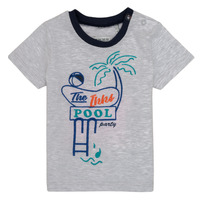 Υφασμάτινα Αγόρι T-shirt με κοντά μανίκια Ikks LISIANA Grey