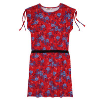 Υφασμάτινα Κορίτσι Κοντά Φορέματα Kaporal JUNE Red