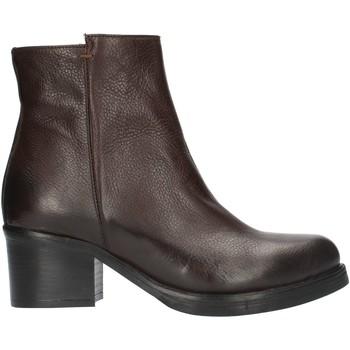 Παπούτσια Γυναίκα Μποτίνια Red Creatyve 5012 Brown
