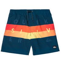 Υφασμάτινα Αγόρι Μαγιώ / shorts για την παραλία Quiksilver WORD BLOCK VOLLEY YOUTH Μπλέ