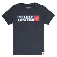 Υφασμάτινα Αγόρι T-shirt με κοντά μανίκια Teddy Smith TOZO Marine