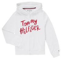 Υφασμάτινα Κορίτσι Φούτερ Tommy Hilfiger KG0KG05043 Άσπρο