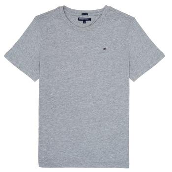 Υφασμάτινα Αγόρι T-shirt με κοντά μανίκια Tommy Hilfiger  Grey