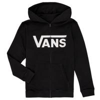 Υφασμάτινα Αγόρι Φούτερ Vans BY VANS CLASSIC ZIP HOODIE Black