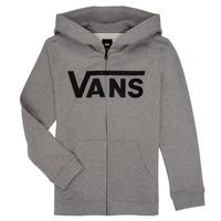 Υφασμάτινα Αγόρι Φούτερ Vans BY VANS CLASSIC ZIP HOODIE Grey