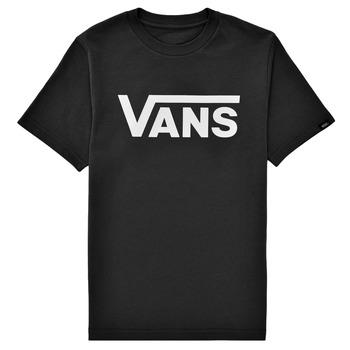 Υφασμάτινα Παιδί T-shirt με κοντά μανίκια Vans BY VANS CLASSIC Black