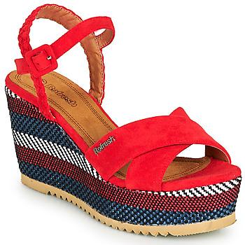 Παπούτσια Γυναίκα Σανδάλια / Πέδιλα Refresh LOCKAL Red