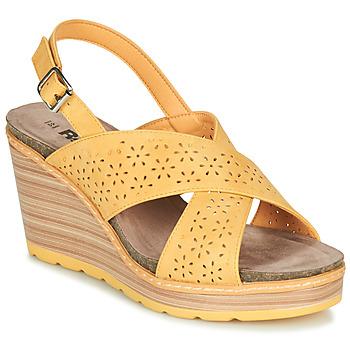 Παπούτσια Γυναίκα Σανδάλια / Πέδιλα Refresh RILO Yellow
