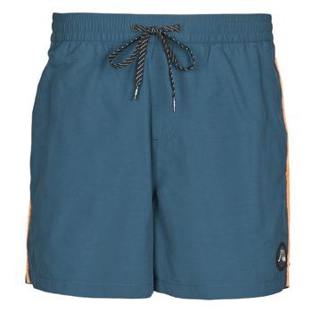 Υφασμάτινα Άνδρας Μαγιώ / shorts για την παραλία Quiksilver BEACH PLEASE Μπλέ