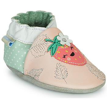 Παπούτσια Κορίτσι Παντόφλες Robeez FRUIT'S PARTY Ροζ / Green