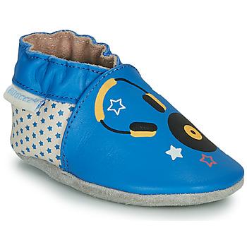Παπούτσια Παιδί Παντόφλες Robeez MUSIC SOUND Μπλέ / Beige