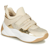 Παπούτσια Γυναίκα Χαμηλά Sneakers MICHAEL Michael Kors KEELEY Beige / Gold