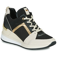 Παπούτσια Γυναίκα Χαμηλά Sneakers MICHAEL Michael Kors GEORGIE Black / Beige / Gold