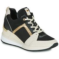 Παπούτσια Γυναίκα Χαμηλά Sneakers MICHAEL Michael Kors GEORGIE Black / Beige / Gold