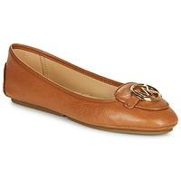 Παπούτσια Γυναίκα Μπαλαρίνες MICHAEL Michael Kors LILLIE Cognac