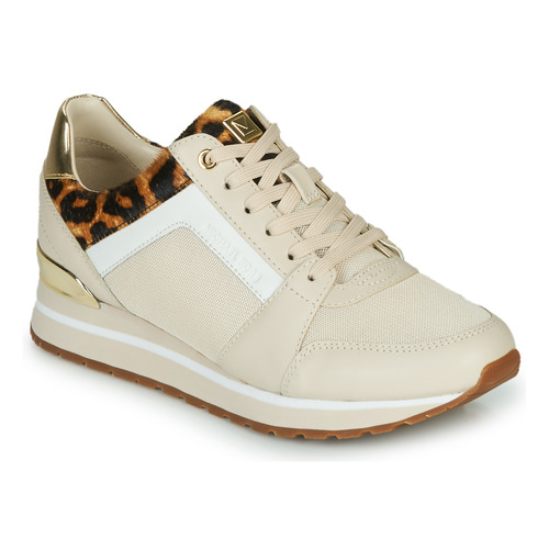 Παπούτσια Γυναίκα Χαμηλά Sneakers MICHAEL Michael Kors BILLIE Beige / Leopard