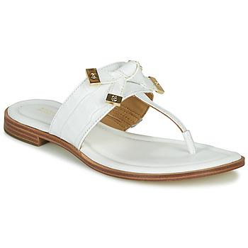 Παπούτσια Γυναίκα Σαγιονάρες MICHAEL Michael Kors RIPLEY THONG Άσπρο