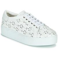 Παπούτσια Γυναίκα Χαμηλά Sneakers Cristofoli NALA Άσπρο