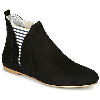 Παπούτσια Γυναίκα Μπότες Ippon Vintage PATCH FLYBOAT Black