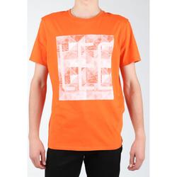 Υφασμάτινα Άνδρας T-shirts & Μπλούζες Lee Logo Tee L63GAIMO orange