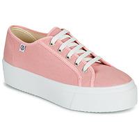 Παπούτσια Γυναίκα Χαμηλά Sneakers Yurban SUPERTELA Ροζ