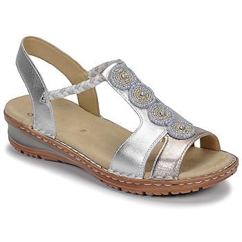 Παπούτσια Γυναίκα Σανδάλια / Πέδιλα Ara HAWAII Άσπρο / Silver