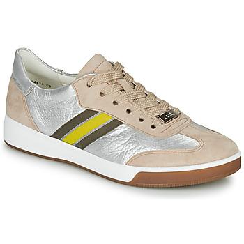 Παπούτσια Γυναίκα Χαμηλά Sneakers Ara ROM-HIGHSOFT Silver / Beige / Yellow