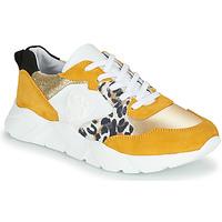 Παπούτσια Γυναίκα Χαμηλά Sneakers Philippe Morvan VIRGIL Yellow / Άσπρο