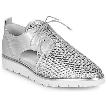 Παπούτσια Γυναίκα Derby Regard LUCEY V2 TRESSE SILVER Silver