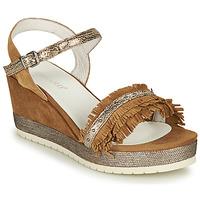 Παπούτσια Γυναίκα Σανδάλια / Πέδιλα Regard DURTAL V2 CROSTA CUOIO Brown