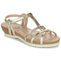 Παπούτσια Γυναίκα Σανδάλια / Πέδιλα Panama Jack DORI Gold