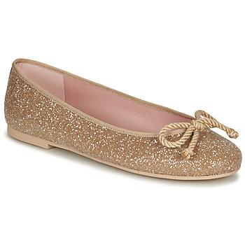 Παπούτσια Γυναίκα Μπαλαρίνες Pretty Ballerinas BELLE SAND Gold