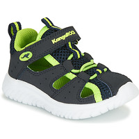Παπούτσια Αγόρι Σανδάλια / Πέδιλα Kangaroos KI-ROCK LITE EV Μπλέ / Yellow