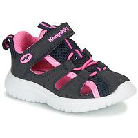 Παπούτσια Κορίτσι Σανδάλια / Πέδιλα Kangaroos KI-ROCK LITE EV Μπλέ / Ροζ
